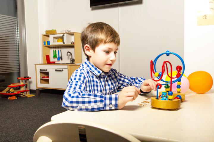 Augenärzte Vision100 Rheydt WartezimmerWartezimmer für Kinder